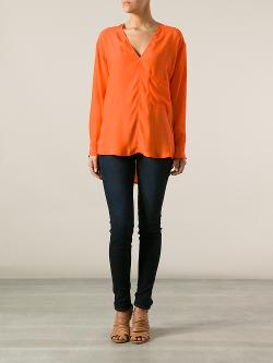 Bottega Veneta - Loose Fit Blouse
