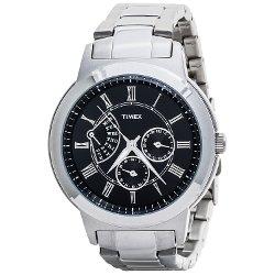 Timex - Stainless Steel Retrograde Watch