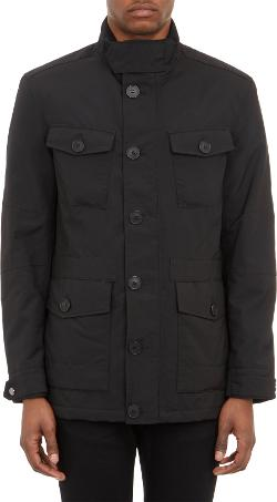 Barneys New York - Tech-Fabric Field Jacket