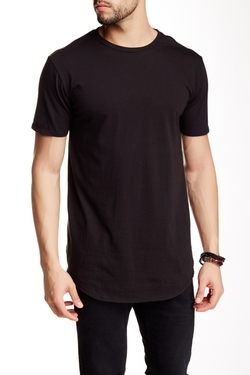 Drifter  - Crew Neck Short Sleeve Shirttail Tee