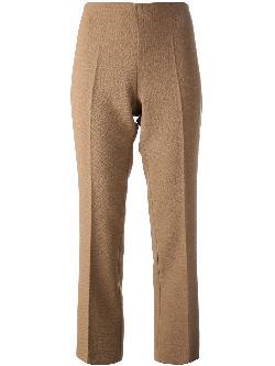 ERIKA CAVALLINI SEMI COUTURE  - straight leg cropped trouser