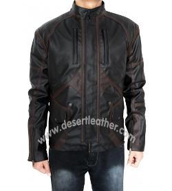 Desert Leather - Captain America Sebastian Stan Bucky Barnes Jacket