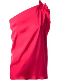 Lanvin  - One Shoulder Blouse