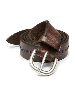 Orciani  - Studded Leather Belt