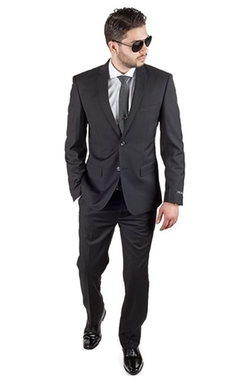 Azar Man - Two Button Notch Lapel Suit