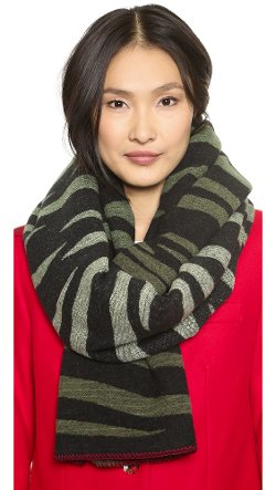 Marc by Marc Jacobs  - Tora Stripe Scarf
