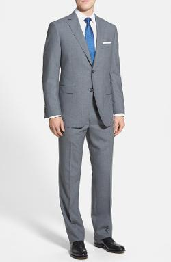 Samuelsohn  - Classic Fit Wool Suit