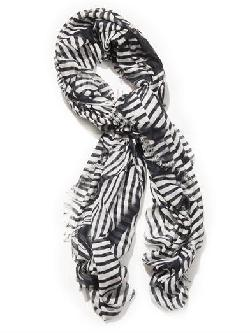 Stella McCartney - Stripe-Print Scarf