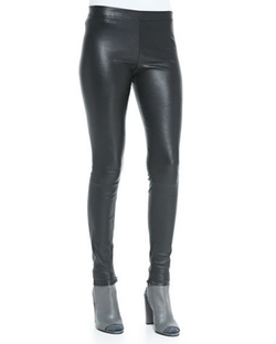 Vince  - Smooth Leather Pants