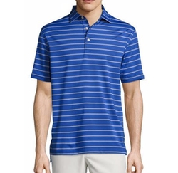 Peter Millar - Tradeshow Striped Performance Polo Shirt