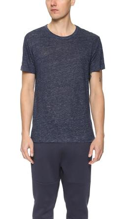 T by Alexander Wang  - Linen T-Shirt