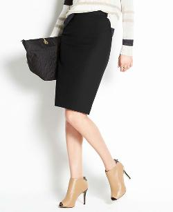 ANN TAYLOR - Tall All-Season Stretch Pencil Skirt