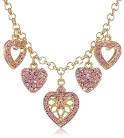 1928 Jewelry - Heart Of Heart Charm Necklace