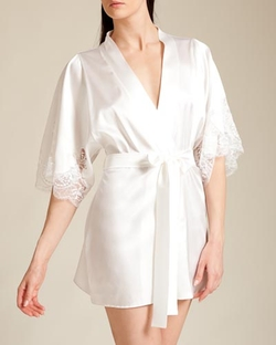 Fleur of England: - Signature Collection Silk Robe