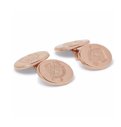 Kingsman + Deakin & Francis - Rose Gold-Plated Cufflinks