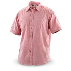 Weatherproof Vintage - Short-Sleeved Chambray Shirt