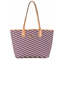 Loveless - Geometric Print Shopper Tote