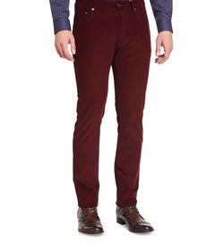 Salvatore Ferragamo - Five-Pocket Corduroy Pants