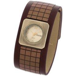 Decree  - Wide-Strap Tile Watch