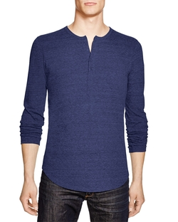 Goodlife - Heathered Henley Shirt