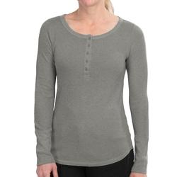 Thermal - Waffle Henley Shirt