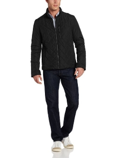 Cole Haan - Leather Details Quilted Jacket
