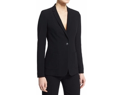 Elie Tahari - Wendy Crepe One-Button Jacket