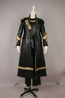 Cosplayer World - The Avengers Loki Cosplay Costume