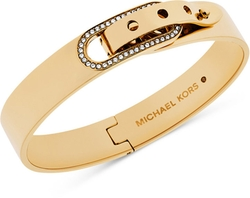 Michael Kors - Crystal Buckle Bangle Bracelet