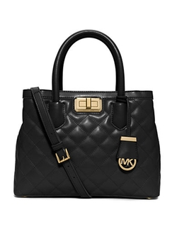 Michael Michael Kors - Quilted Leather Satchel Bag