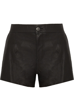 Current/Elliott - Colleague Leather Shorts