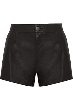 Current/Elliott - Colleague Leather Shorts