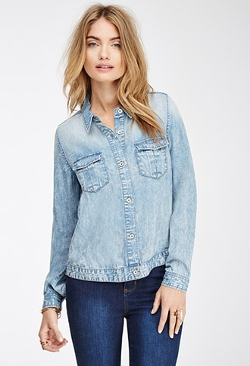 Forever 21 - Faded Denim Shirt