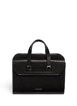 Alexander McQueen - Front Flap Leather Briefcase