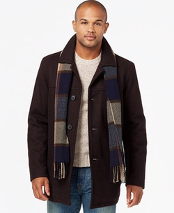 Tommy Hilfiger - Melton Wool Walking Coat