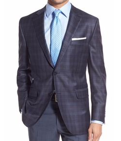 Peter Millar - Classic Fit Plaid Wool Sport Coat