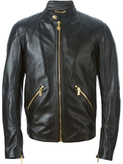 Versace - Stylised Biker Jacket