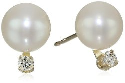 Bella Pearl  - Chinese Freshwater Cultured Pearl Earrings