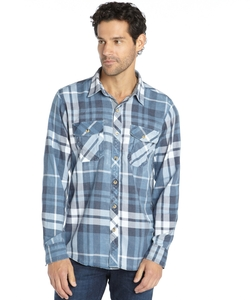 3rd & Army - Plaid Crossbar Flannel Shirt