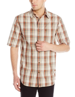 Carhatt - Plaid Open Collar Short Sleeve Shirt
