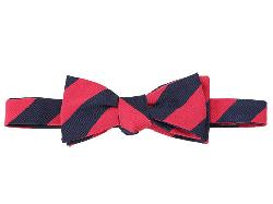 Original Penguin - Lafayette Stripe To-Be-Tied Bowtie