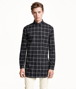 H&M - Long Cotton Shirt