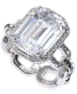 Judith Jack - Sterling Silver Cubic Zirconia Ring