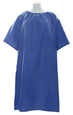 Nobles Health Care Products - IV Hospital Gown 5x - Snaps on the Shoulders