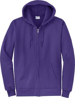 Port & Company - Classic FullZip Hooded Sweatshirt