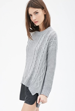 Forever21 - Cable Knit Sweater