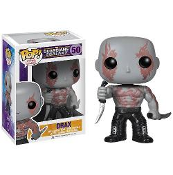 Guardians of the Galaxy - Drax: Funko POP! x Guardians of the Galaxy Mini Bobble-Head Vinyl Figure