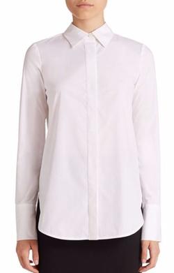 Vince  - Poplin Button-Down Shirt