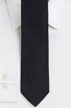 Hugo Boss -  Italian Silk Solid Tie