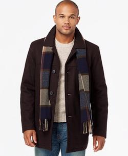 Tommy Hilfiger  - Melton Wool Walking Coat